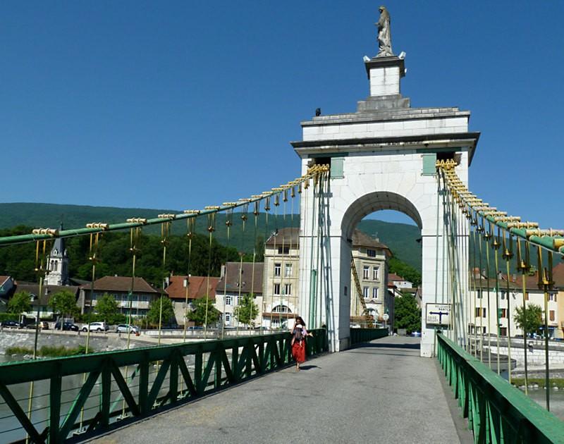 Rhônebrücke Seyssel