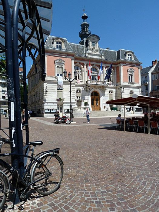 Das Rathaus von Chambéry